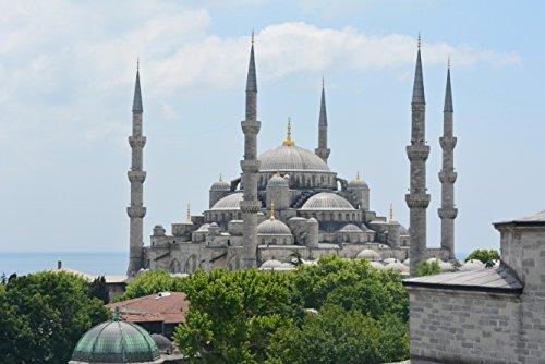 hansepuzzle 11101 Reisen - Blaue Moschee, 2000 Teile in hochwertiger Kartonbox, Puzzle-Teile in wiederverschliessbarem Beutel