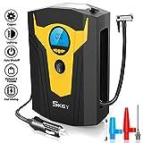 SKEY Compressore Portatile per Auto,120W DC 12V Compressore Auto con Display LCD...