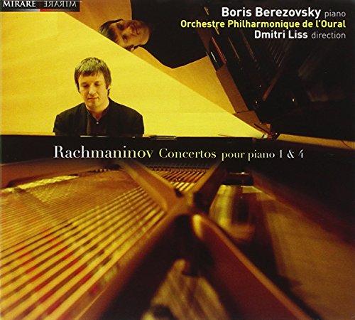 RACHMANINOV - Berezovsky - Concertos pour piano 1 et 4