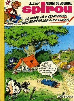 Gaston Lagaffe 12 - Spirou - reliure n° 119 - 1694