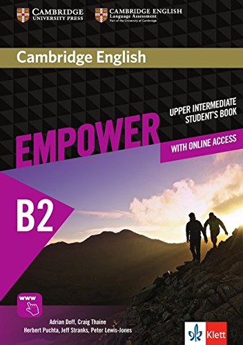 Cambridge English Empower B2: Student's Book + assessment package, personalised practice, online workbook & online teacher support (Cambridge Buch English)