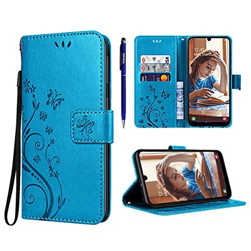 Chiusura Magnetica Per Samsung Galaxy S9,Nero Portafoglio Cover con Porta Carte Custodia per Samsung Galaxy S9 95street Custodia Portafoglio in pu Pelle Funzione Stand