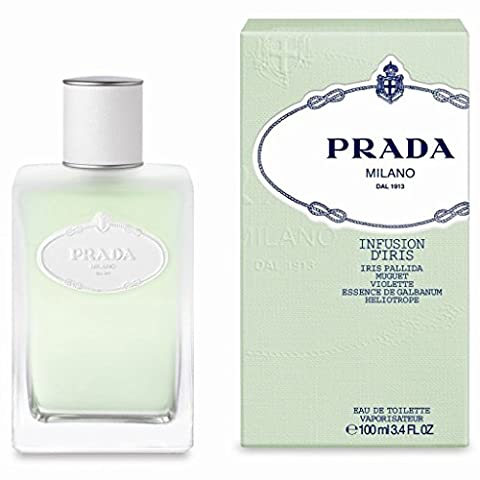 Prada Infusion D'Iris Eau de Toilette Spray for Women 100 ml