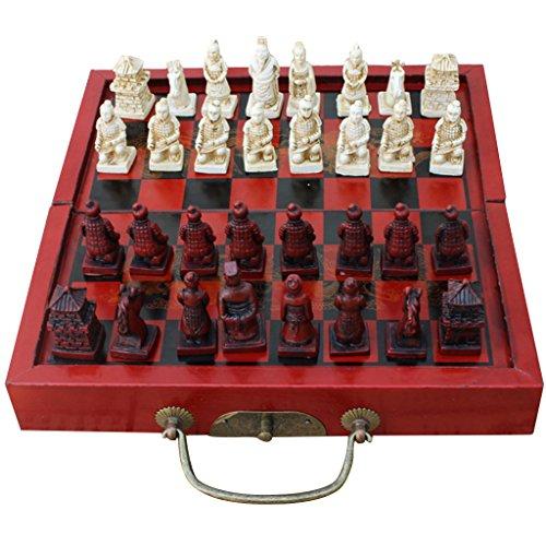 Baoblaze Xiangqi Chinesisches Schachspiel Schach Spiel Reisespiel Set