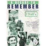 A Decade to Remember: Collector's Edition 1940s
