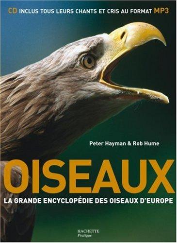 Oiseaux : La grande encyclopédie des oiseaux d'Europe (1CD audio) par Peter Hayman