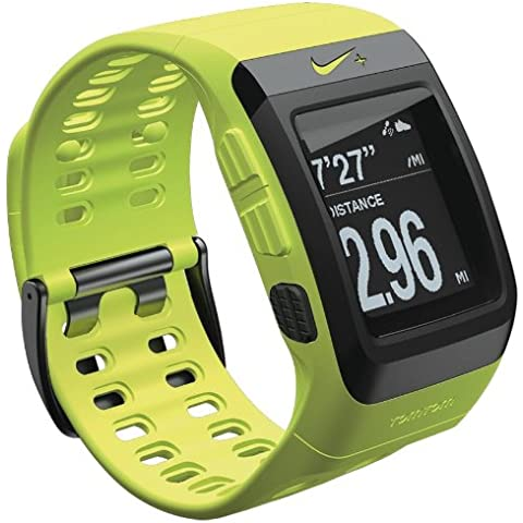 TomTom Nike+ Sportswatch GPS - GPS para carrera, color verde