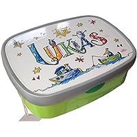 Brotdose mit Namen, Schiffe, personalisierte Lunchbox, Rosirosinchen, Rosti Mepal