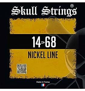 Skull Strings Nickel Line 14-68 - Jeu de cordes guitare électrique