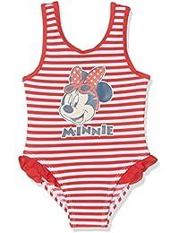 Disney Minnie Mouse, Maillot Une Pièce Bébé Fille