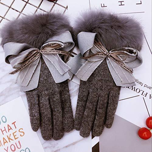 SUNHAO Damen Handschuhe Herbst W...