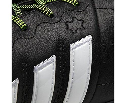 Chaussures Adidas ACE 15.2 FG/AG Leather Cblack/Ftwwht/Syello