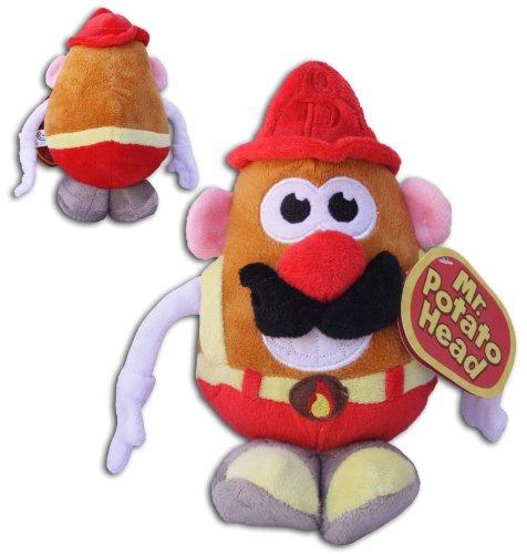mr-potato-head-10-fireman-firefighter-costume-new-original-plush-hasbro-soft-toy-doll-tv