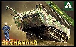 Takom 1:35 French Heavy Tank St Chamond (Tak2012)