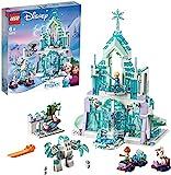 LEGO Frozen Magico Castello di Ghiaccio di Elsa Giocattolo, Multicolore, 43172
