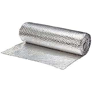 ThermaWrap 600mm x 7.5m x 3.7mm Insulating Wrap Easy Install Bubble Foil Insulation Ideal for Attics, Lofts, Floors, Sheds, Caravans, Boats, Greenhouses, Pet Homes and Garages- High Quality Aluminium Foil Reflective Layers for Maximum Heat Retention and Energy Saving