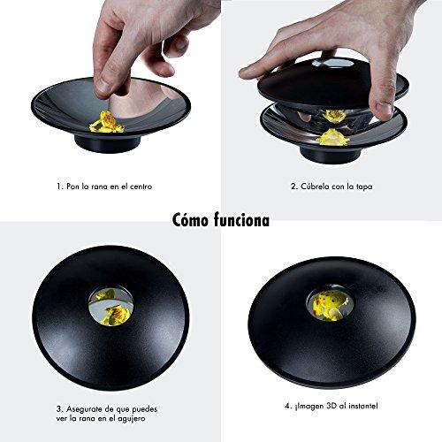 Juguetrónica - Reproductor holográfico mini, Hologramas en 3D