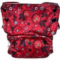 Bumpadum Duet Stay-Dry Reusable Cloth Diaper for Overnight/Heavy Wetter Usage (Eden)