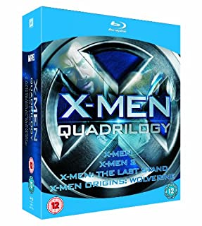 X-Men Quadrilogy - X-Men, X-Men 2, X-Men: The Last Stand, X-Men Origins: Wolverine [Blu-ray] (B002DWAYSG) | Amazon price tracker / tracking, Amazon price history charts, Amazon price watches, Amazon price drop alerts