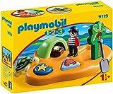 Playmobil 1.2.3-9119 Isla Pirata,, única (9119)