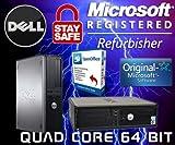 DELL WIFI QUAD CORE DESKTOP PC 1TB HDD 8GB COMPUTER WINDOWS 10, SALE CHEAP - MAXIMUM COMPUTERS