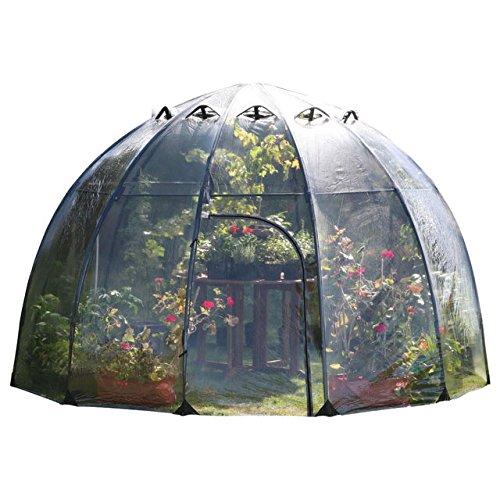 Serre extérieur pour la culture de plantes Haxnicks Sunbubble (280x200cm)
