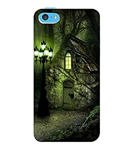 ColourCraft Cartoon Drawing Design Back Case Cover for APPLE IPHONE 5C