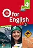 E for English 4e (éd. 2017) Livre
