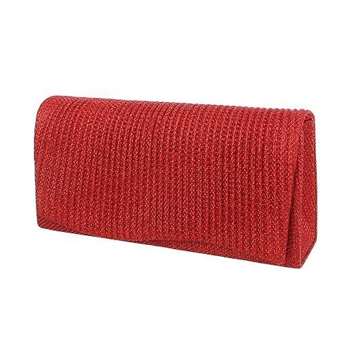 Ital-Design, Borsetta da polso donna Rot