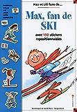 Max, fan de ski - Livre stickers - numéro 11 (11)