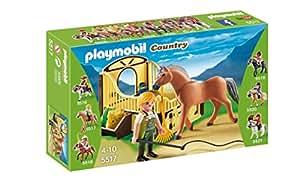 Playmobil - 5517 - Cheval Fjord et son paddock