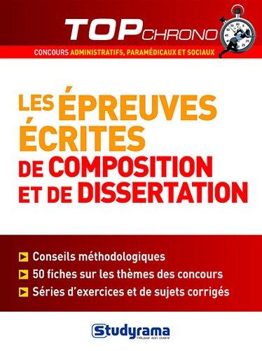 Les preuves crites de composition et dissertation