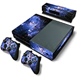 Mcbazel Pattern Series Decals Vinyl Skin Sticker for Xbox One (Galaxy)