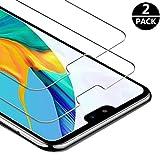 FUMUM Schutzfolie für Huawei P20 Pro Folie,Premium HD Anti-Kratzer Glasfolie 9H Bildschirmschutzfolie für Huawei P20 Pro Folie aus Glas[Bubble-frei][Anti Fingerabdruck][Anti-Öl]