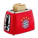Sound-Toaster + gratis Sticker München forever, FC Bayern München Toaster,