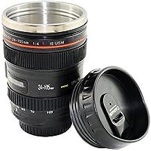 Taza termo Type objetivo Canon 24105taza–Portalápices cámara–adaptout marca francesa