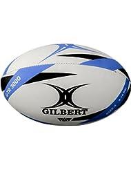 Gilbert G-TR3000 - Balón Rugby, color azul / negro, talla 5