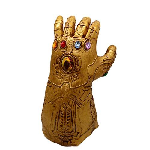 Avengers Alliance 3 Kosmische Maske Cos Halloween Filme Iron Man Sanos Latex Eliminator Infinity Handschuhe,D-OneSize