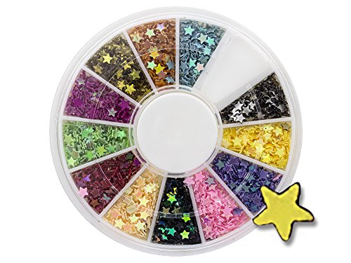Nail art - Roulette de strass pour les ongles - Multicolores et brillants