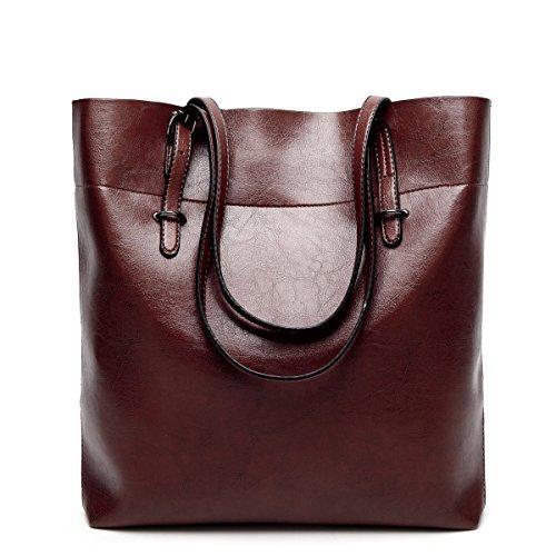 Mode Einfach Umhängetasche Diagonales Paket Mädchen Party Retro Damen Mode Lässig Handtaschen Große Kapazität Damen Tasche Coffee