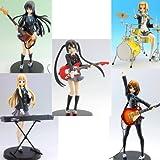 K-ON! ! SQ Figure Hirasawa Yui Akiyama Mio Ritsu Tainaka, Tsumugi Kotobuki Azusa Nakano all five species (japan import)