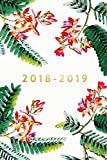 "2018-2019: Daily Monthly & Weekly Academic Student Planner | 2018-2019: Floral Ferns, August 2018 - July 2019, 6"" x 9"""
