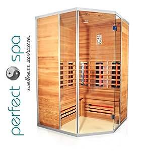 infrarotkabine teneriffa infrarot sauna f r bis zu 3 personen w rmekabine infrarotsauna. Black Bedroom Furniture Sets. Home Design Ideas