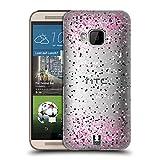 Head Case Designs Rosa Konfetti Ruckseite Hülle für HTC