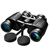 Professional Binoculars,Topop 8x35 Folding Compact Binocular BAK4 Prism Zoom Telescope with Neck Strap and Bag, High Power Magnification for Birdwatching, Concerts, Sport, Hiking, Camping, Sightseeing and Travel