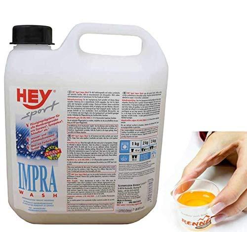Hey Sport HEY sport IMPRA Wash-In Flüssigimprägnierer Imprägnierwaschmittel für Textilien wie GORETEX, SYMPATEX, 2.5 l