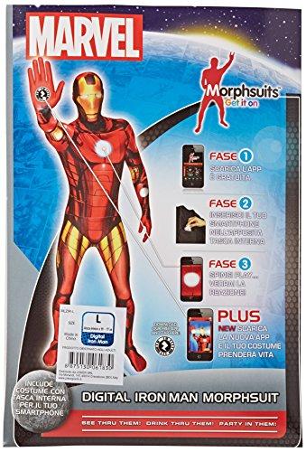 Joker MLZIR-L Marvel Iron Man Costume di Carnevale, in Busta, Multicolore