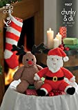 Scarica Libro King Cole Knitting Pattern 9007 Santa and Rudolph Toys and Christmas Stocking (PDF,EPUB,MOBI) Online Italiano Gratis