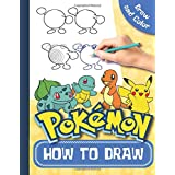 How To Draw Pokemon Draw and Color: Pokemon Drawing Book Step By Step Drawings