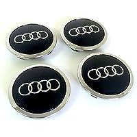 Set Of Four Alloy Wheels Centre Hub Caps Black Covers Badge 69 mm 8t0 601 170 A Fits Set de quatre Jantes aluminium Centre